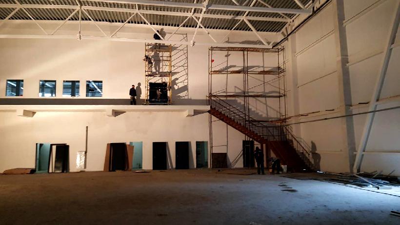 Ледовый дворец планируют достроить в Красногорске к августу