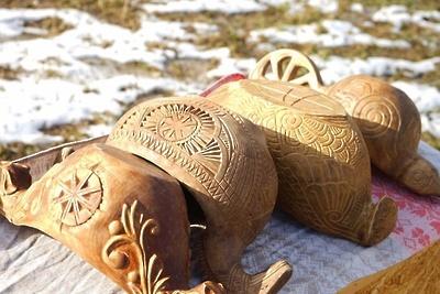 В усадьбе Подольска 28 ноября откроют выставку костюмов и предметов народного быта славян