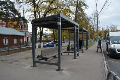 Более 35 автобусных павильонов заменят в Климовске Подольска