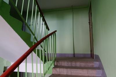 В Подольске отремонтировали подъезд одного из домов после пожара