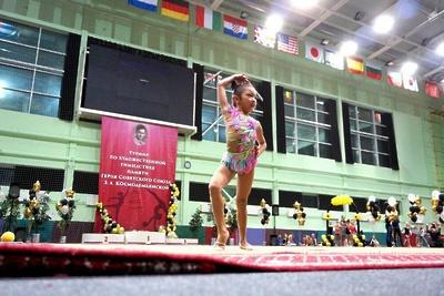 Более 400 спортсменок приняли участие в турнире по художественной гимнастике в Рузе