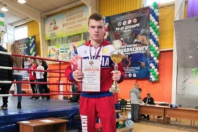 Спортсмен из Подольска Борис Шикунов завоевал золото на Кубке России по кикбоксингу