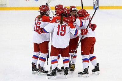 Российские хоккеистки заняли второе место на «Турнире четырех наций» в Ступине