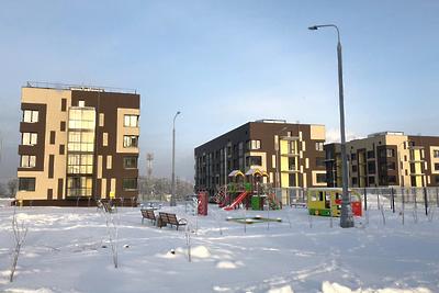 В Ленинском районе построили пять домов ЖК «Булатниково»