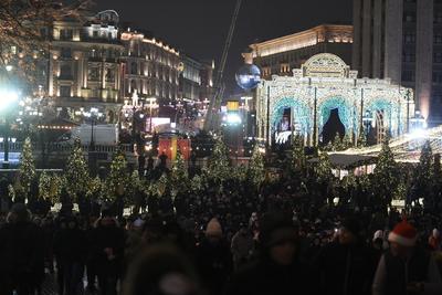 Несколько улиц в центре Москвы перекроют на Рождество