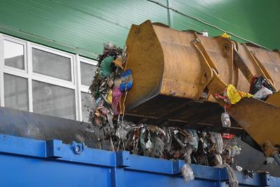В комплексе по переработке ТБО в Коломенском округе начали монтаж оборудования цехов