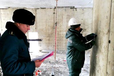 В Подольске выявили недочеты при строительстве складского комплекса