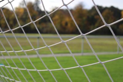 Футбольные ворота установили на спортплощадке в Электромонтажном проезде Подольска