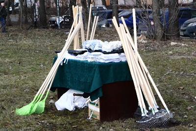 Жители Подмосковья выйдут на общеобластной субботник 20 апреля