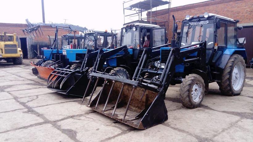 Здание стоянки для сельскохозяйственных машин реконструируют в Талдомском округе