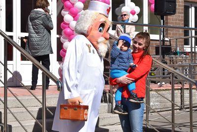 Новая детская поликлиника открылась в Воскресенске