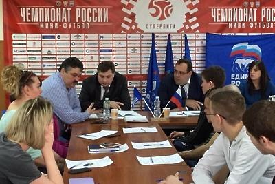 Жителям Подольска представили проект реконструкции стадиона «Весна»