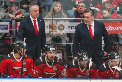 Тренер омского ХК «Авангард» поблагодарил команду и болельщиков из Балашихи