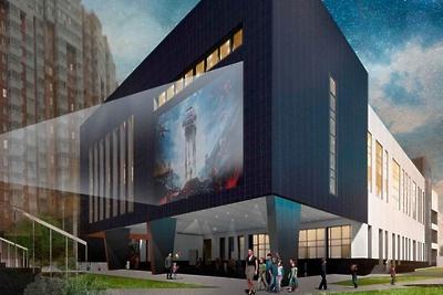 Учебный комплекс с летним кинотеатром построят на Смольной улице в Москве