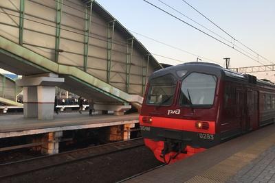 Все пригородные поезда на Рижском направлении МЖД снова курсируют по графику