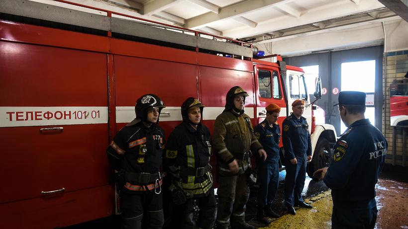 Бытовая техника обгорела при пожаре в культурном центре Люберец