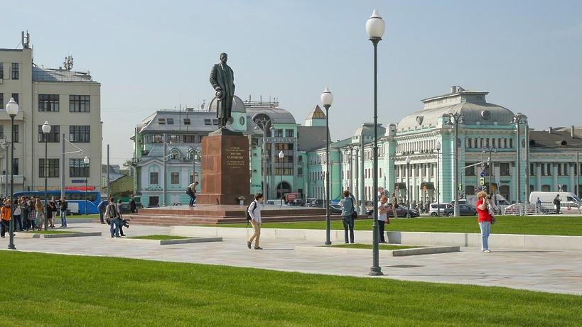 Парк площадью 0,5 га появится в Москве возле станции метро «Белорусская»