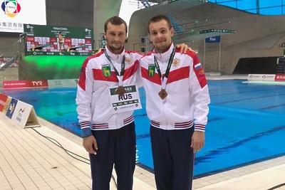 Подмосковный спортсмен завоевал бронзу на этапе мировой серии Fina по прыжкам в воду