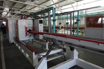 На заводе в Подольске открыли новый цех по производству многослойных труб