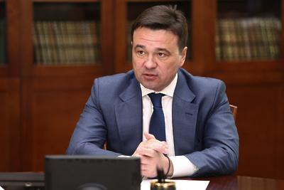 Воробьев проверил ход строительства школы в Одинцове