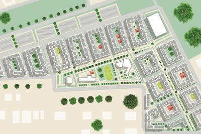 Строительство дома №9 начали на территории ЖК «Императорские Мытищи»