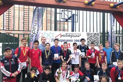 В Люберцах наградили победителей соревнований по настольному хоккею
