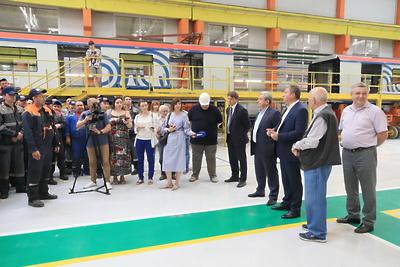 Глава Мытищ посетил завод «Метровагонмаш»