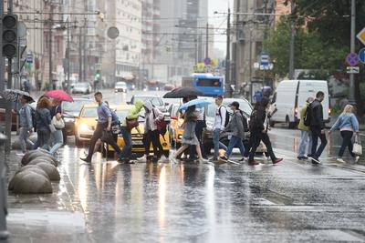 С начала июля в Москве выпало более трети от месячной нормы осадков