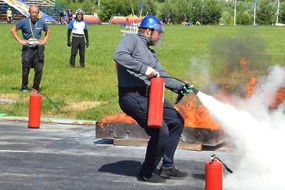 В Подольске стартовала областная спартакиада по пожарно‑спасательному спорту