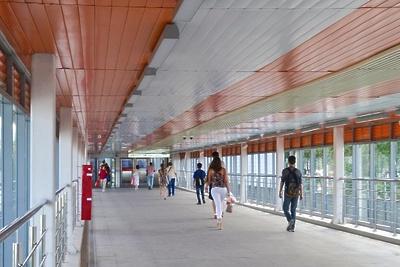Теплые переходы станут «проводниками» от остановок «Текстильщики», «Тушино» МЦД к метро