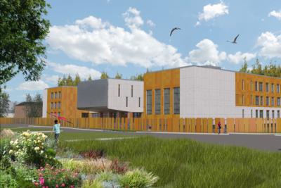 Начался прием заявок на участие в аукционе на строительство школы в Волоколамске