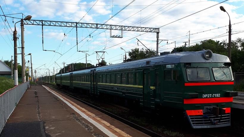 Электрички на Рижском направлении МЖД следуют с задержками