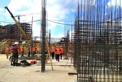 Дом №22 ЖК «Лайково» в Одинцовском горокруге планируют достроить к концу 2020 года