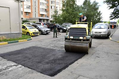 100% дорожных ям залатали в 57 городских округах Подмосковья
