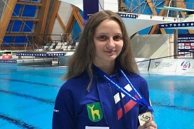 Представительница Подмосковья выиграла серебро на первенстве Европы по прыжкам в воду