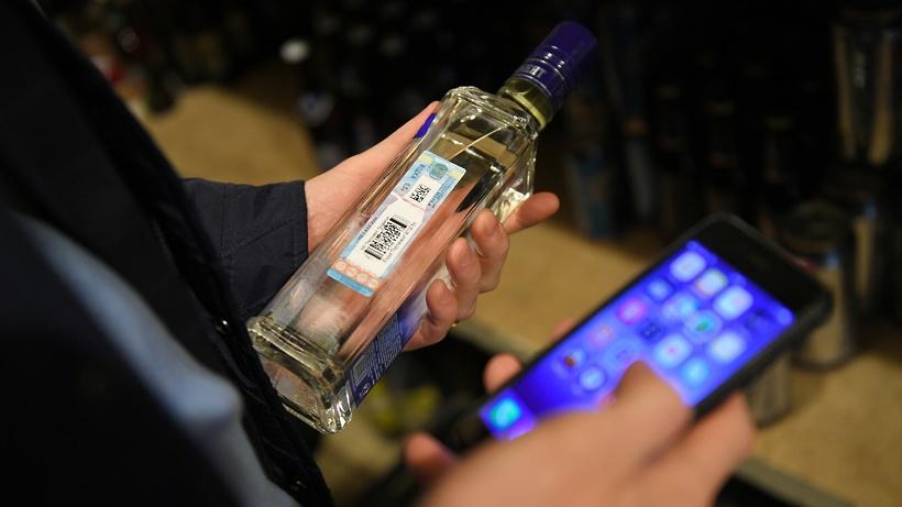 В одной из торговых точек Домодедова выявили нелегальную продажу алкоголя ночью