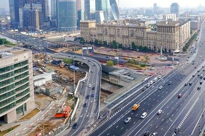 В Москве построили 35 километров дорог с начала этого года