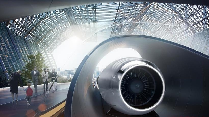 Hyperloop Москва-Санкт-Петербург с остановкой в Великом Новгороде: цены и время