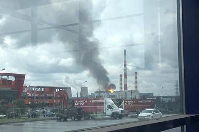 Газоснабжение после возгорания на ТЭЦ‑27 в Мытищах полностью восстановили