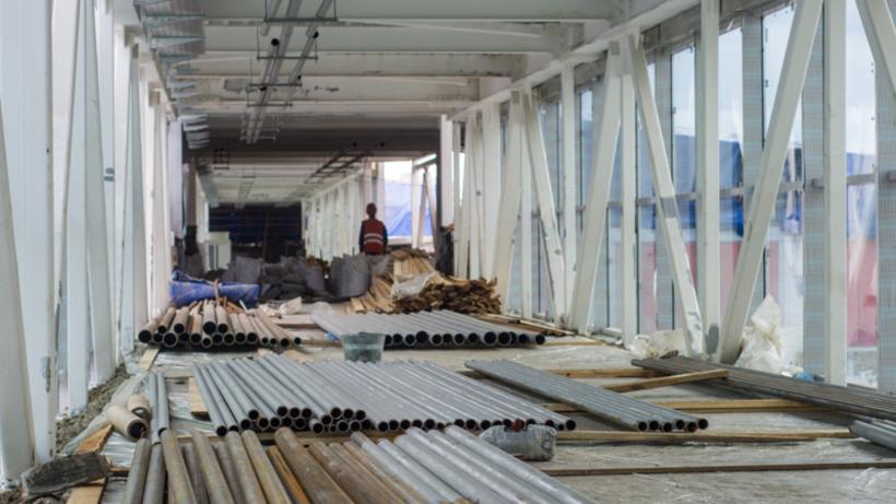 Строительство перехода через железнодорожные пути в Щербинке начнется в 2022 году