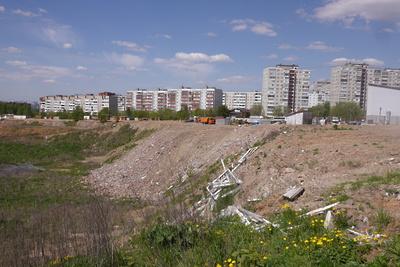 Первый этап работ по засыпке карьера ЗИЛ в Дзержинском планируют завершить в 2020 году