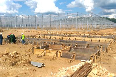 Строительство тепличного комплекса возобновили в Серпухове после смены подрядчика