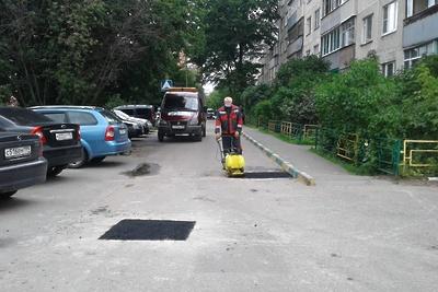 Свыше 10 тыс ям отремонтировали во дворах Подмосковья