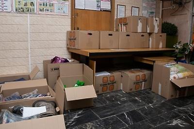 Жители Котельников собрали более 70 коробок гумпомощи для пострадавших в Иркутской области