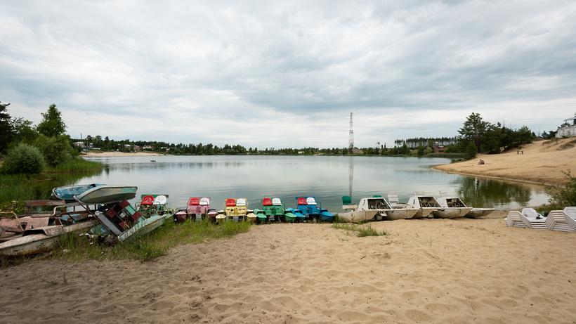 Пляж и зона отдыха появятся у плотины в Шаховской в 2023 г
