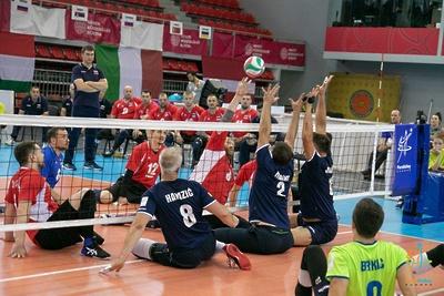 Подмосковные параатлеты стали чемпионами Европы по волейболу в составе сборной России