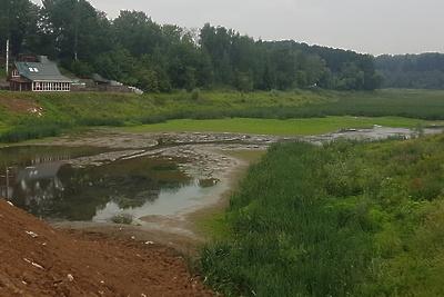 Ремонт плотины на реке Синичке в Красногорске завершат в декабре