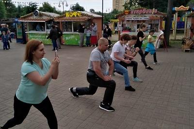 В субботу жители Люберец смогут посетить тренировки по карате в парке округа