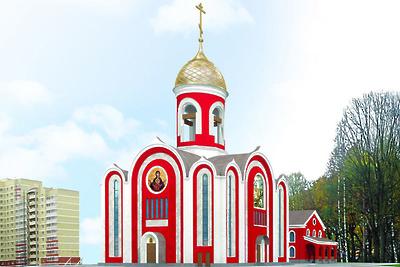 Благоустройство территории главного храма Росгвардии в Балашихе начнут в 2020 году