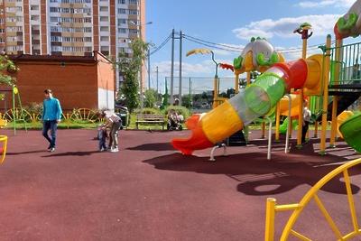 Детские площадки привели в порядок в девяти округах Подмосковья